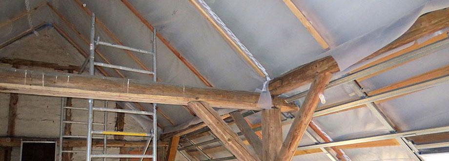 Dachstuhlausbau mit Trockenbau
